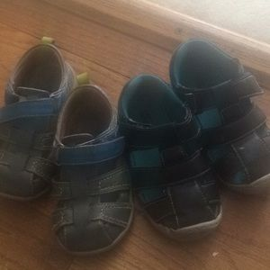 Toddler sandals size 8